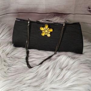 Liz Soto Evening Clutch Satin Bag
